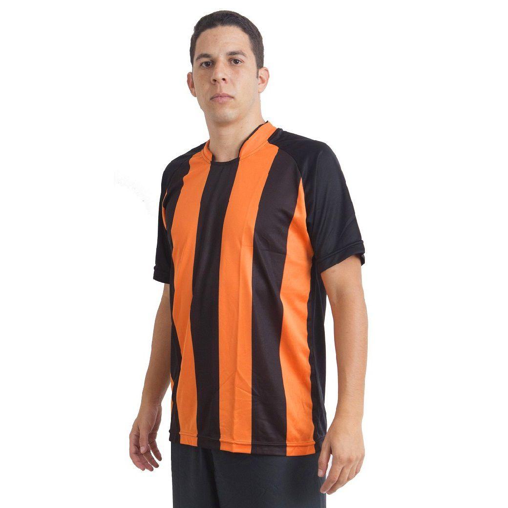 Jogo de Camisa Milan 18 de Linha e 1 Goleiro Ref 5781