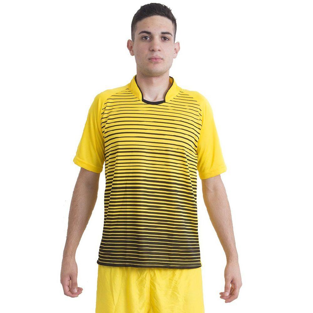 Jogo de Camisa Modelo City 18 Unidades Ref 5715