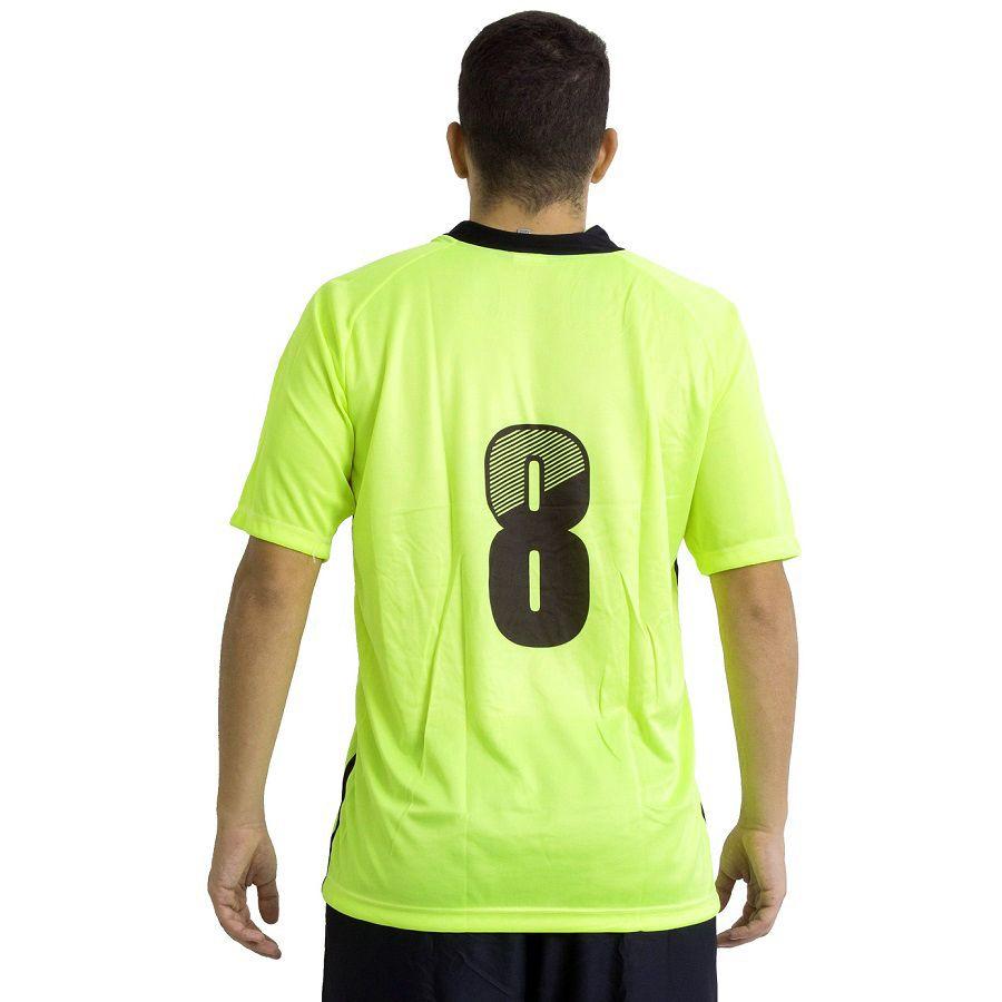 Jogo de Camisa Modelo Milan 18 Unidades Ref 5719