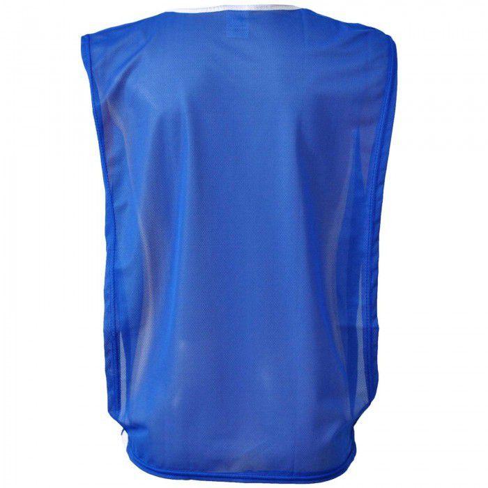 Jogo de Coletes 10 Peças na Cor Azul Royal