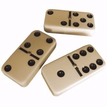 Jogo de Dominó 28 Peças - Double Six
