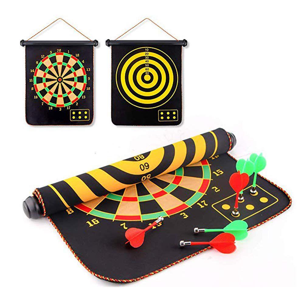Jogo de Tiro ao Alvo Magnético Magnet Dartboard