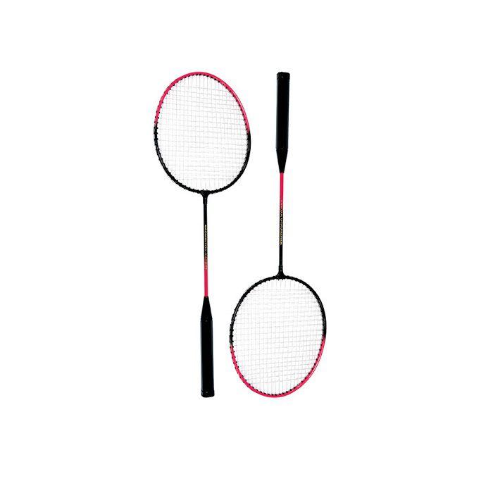 Kit Badminton Art Sport 2 Raquetes e 3 Petecas com Bolsa