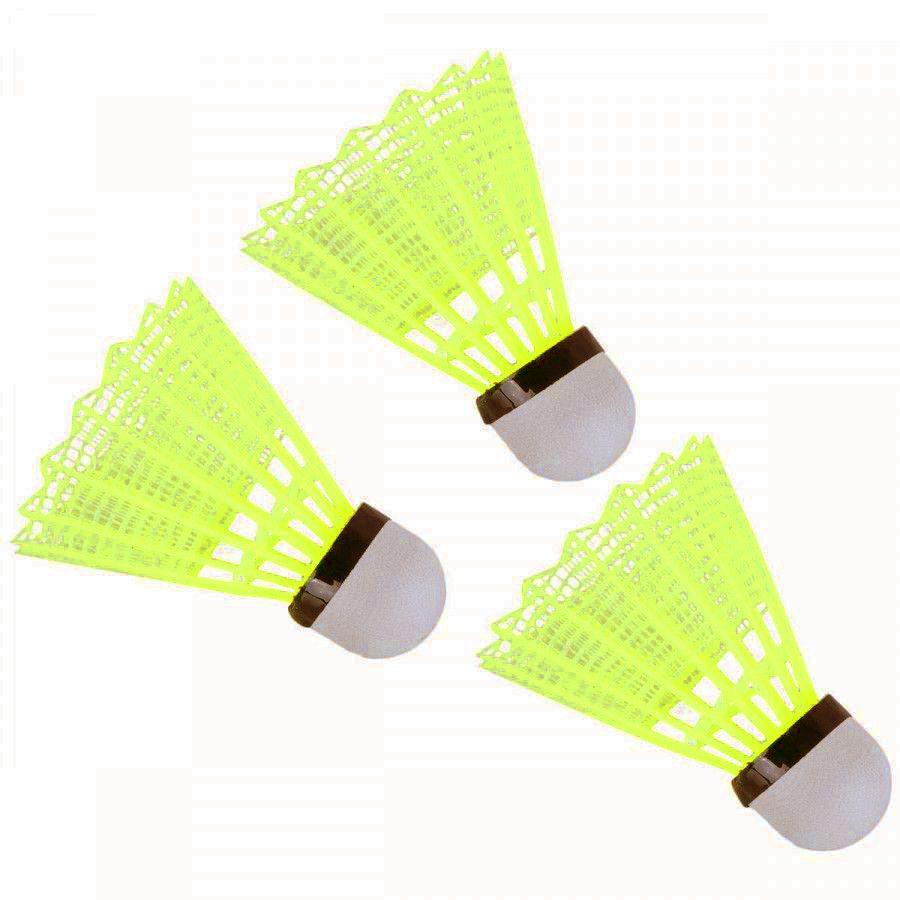Kit Badminton Vollo com 2 Raquetes 3 Petecas