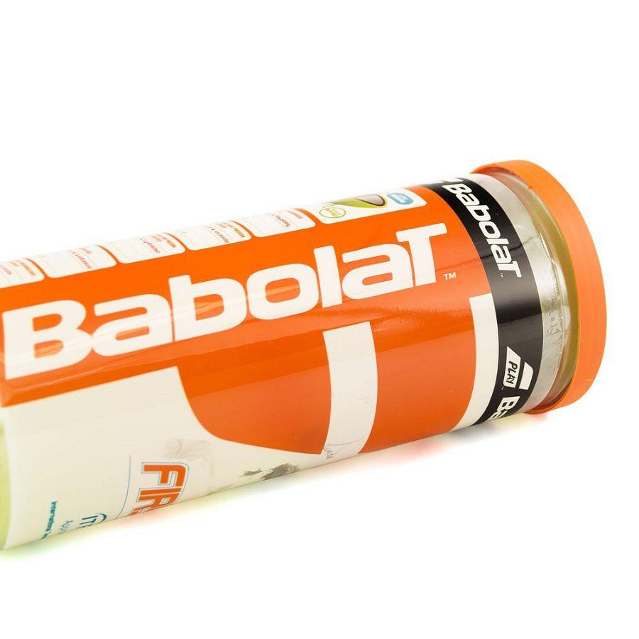 Kit Bolas de Tênis Babolat First com 3 Unidades
