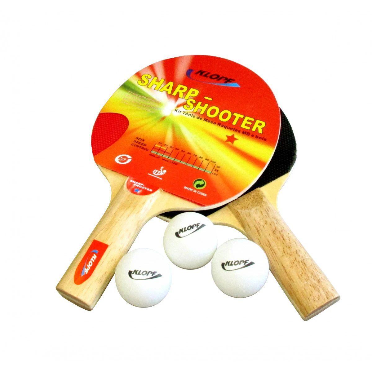 Kit de Tênis de Mesa Sharp Shooter - Klopf