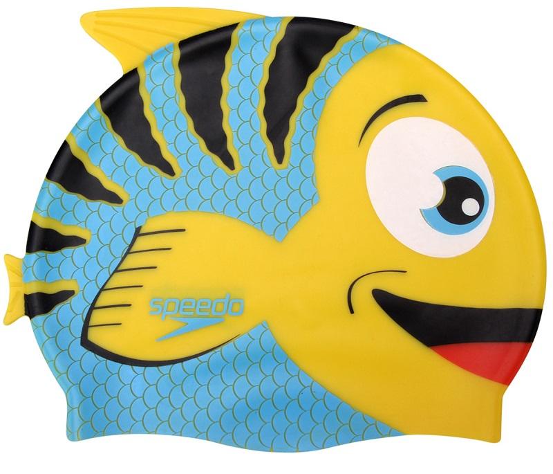 Kit Infantil Óculos + Touca Fish Combo Azul - Speedo  - ESTAÇÃO DO ESPORTE