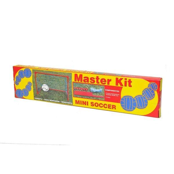 Kit Mini Soccer 2 Traves Portátil - Master