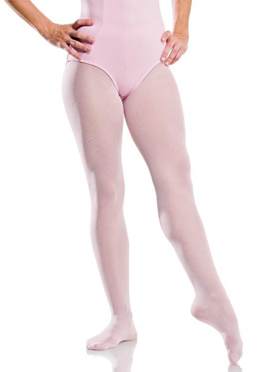 Meia Calça Helanca Rosa Infantil - Só Dança