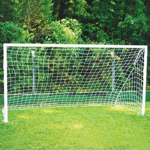 Par de Rede de Futebol de Campo Fio 4 - Master