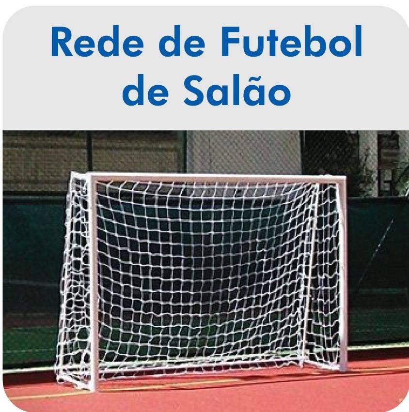 Par de Rede de Futsal Oficial Fio 6 - Master - ESTAÇÃO DO ESPORTE e12c496c02713