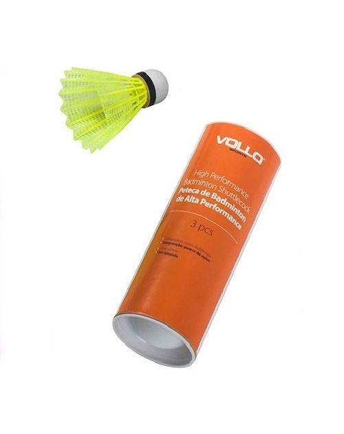 Peteca de Badminton VB600 3 pcs - Vollo