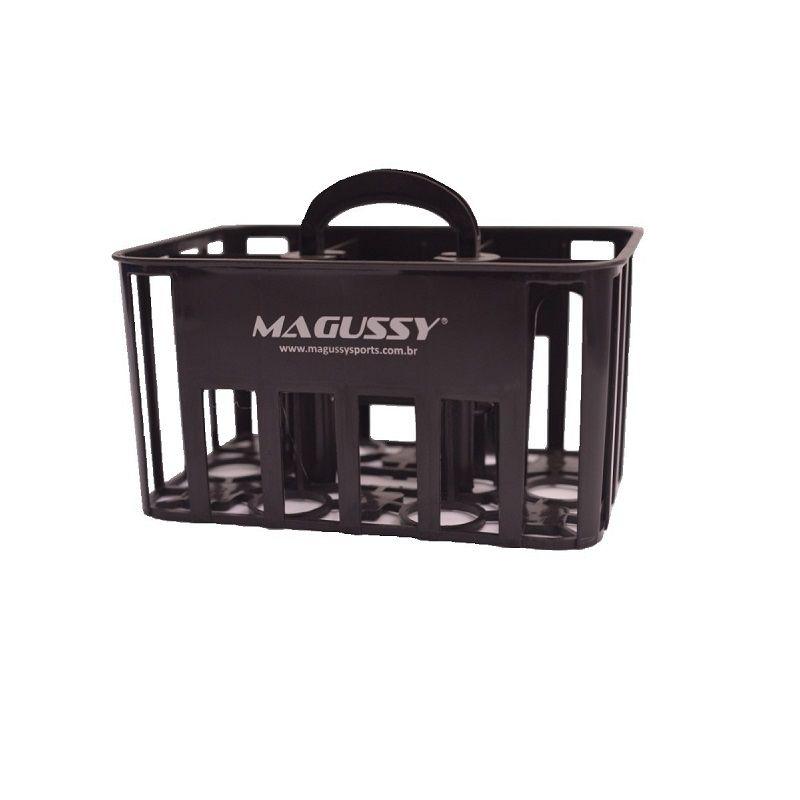 Porta Garrafa Magussy com Alça e 6 Squeeze