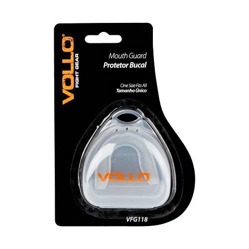 Protetor Bucal Gel Simples com Estojo - Vollo  - ESTAÇÃO DO ESPORTE
