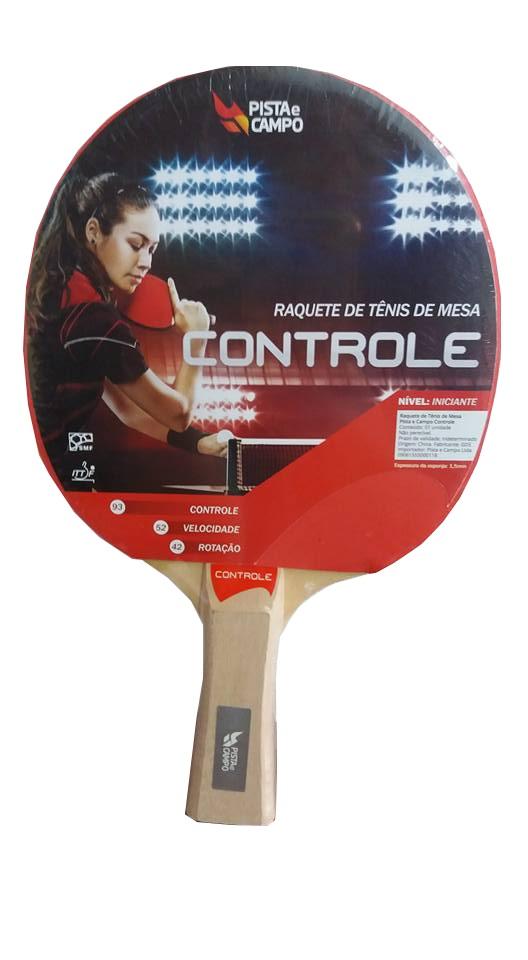 Raquete Tênis de Mesa Controle - Pista e Campo