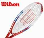 """Raquete de Tênis US Open - 23"""" (7-8 Anos) - Wilson  - ESTAÇÃO DO ESPORTE"""