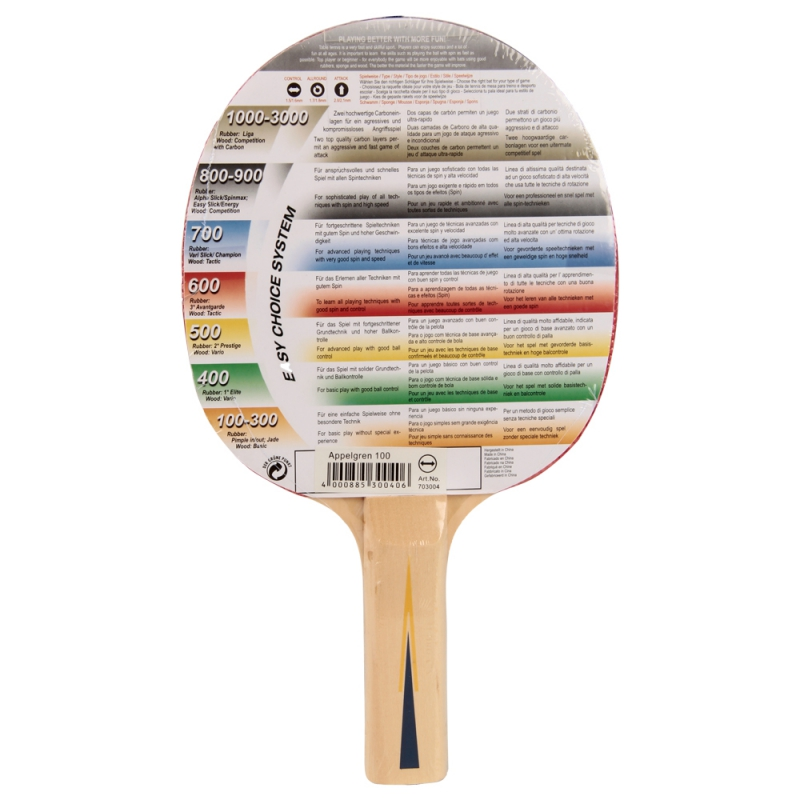 Raquete Tênis de Mesa Appelgren 100 - Donic Schildkrot