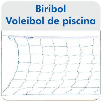 Rede de Biribol Vôlei de Piscina 1 Faixa - Master Rede