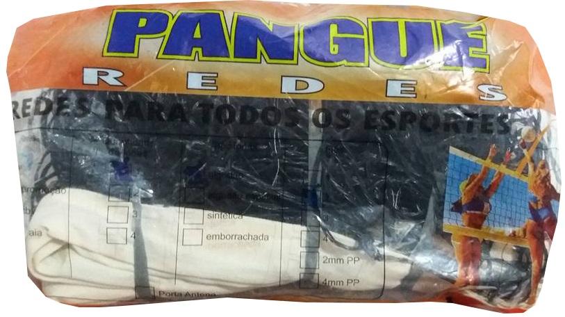 Rede de Vôlei 1 Lona Fio 2 mm em Nylon - Pangué