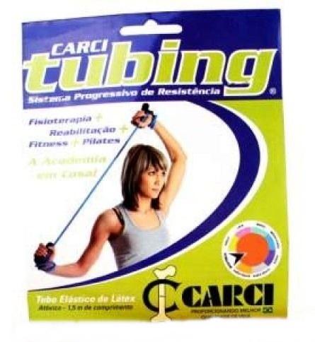 Tubo Elástico de Látex AZUL - Carci Tubing