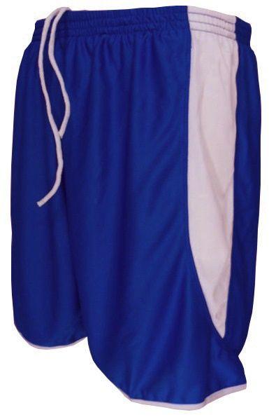 Uniforme Esportivo com 12 Camisas modelo City Celeste/Royal + 12 Calções modelo Copa Royal/Branco