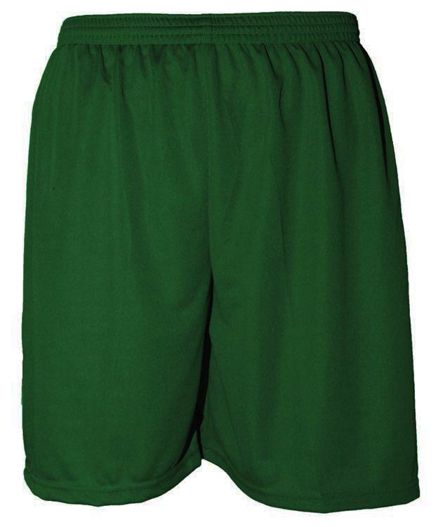 Uniforme Esportivo com 20 camisas modelo Milan Verde/Branco + 20 calções modelo Madrid Verde + 20 pares de meiões Branco