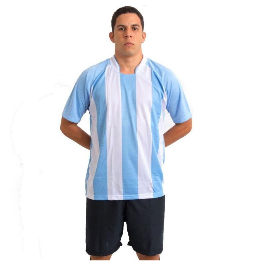 Uniforme Esportivo Modelo Milan 20 Camisas e Calções Ref 5875