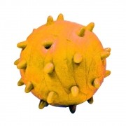 Brinquedo Furacão Pet Bola Maciça Mamoninha de 45 mm - Laranja