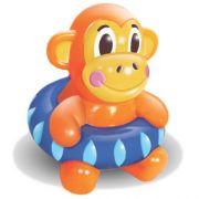 Brinquedo Mordedor Lider Macaco Boia - Preto
