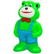 Brinquedo Mordedor Lider Ursinho de Gravata - Verde