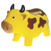 Brinquedo Mordedor Lider Vaca - Amarelo