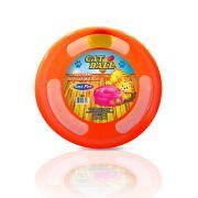 Brinquedo Plastpet Cat Ball - Laranja