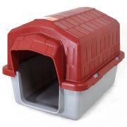 Casa Alvorada Pet Plástica - Vermelho