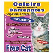 Coleira Free Cat Contra Carrapatos para Gatos