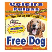 Coleira Free Dog Antipulgas para Cães Adultos