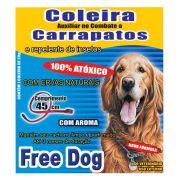 Coleira Free Dog Contra Carrapatos para Cães Adultos