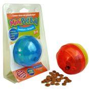 Comedouro com Brinquedo Interativo Pet Games PetBall