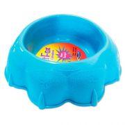 Comedouro Plastpet Pet Fox - Azul