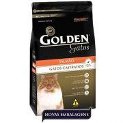 Ração Premier Pet Golden de Salmão para Gatos Adultos Castrados