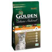 Ração Premier Pet Golden Seleção Natural de Frango e Arroz para Gatos Adultos