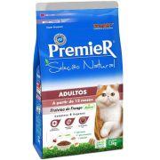 Ração Premier Seleção Natural de Frango para Gatos Adultos