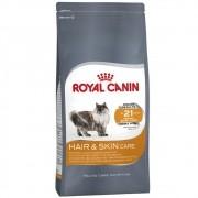 Ração Royal Canin FCN Hair & Skin Care de Gatos Adultos para Pelagem Brilhante e Saudável