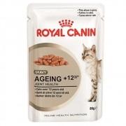 Ração Royal Canin FHN Ageing 12+ em Sachê para Gatos Adultos com mais de 12 Anos de Idade - 85 g