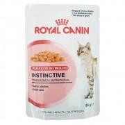 Ração Royal Canin FHN Instinctive em Sachê para Gatos Adultos de Paladar Exigente - 85 g