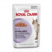 Ração Royal Canin FHN Sterilised em Sachê para Gatos Adultos Castrados - 85 g