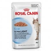 Ração Royal Canin FHN Ultra Light em Sachê para Gatos Adultos com Tendência a Sobrepeso - 85 g