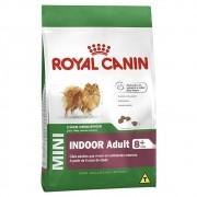 Ração Royal Canin Mini Indoor Adult 8+ para Cães Adultos de Raças Pequenas Acima de 8 Anos