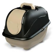Sanitário Plastpet Wc Cat Box Pop para Gatos - Preto