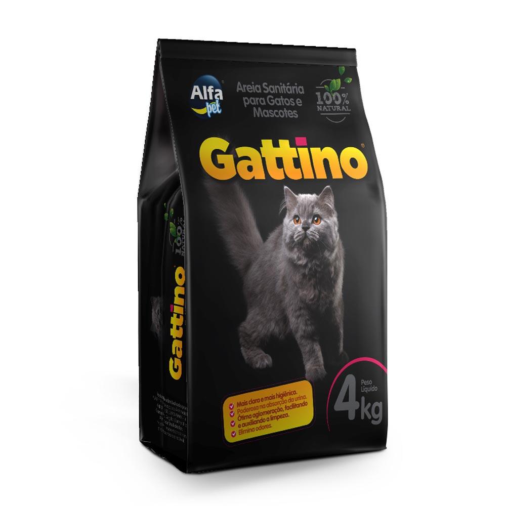Areia Granulada Alfapet Gattino - 4 Kg