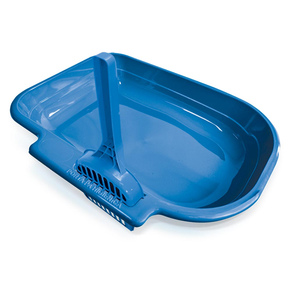 Bandeja Sanitária Plastpet Zooplast Gato - Azul